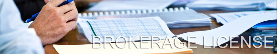 Brokerage license