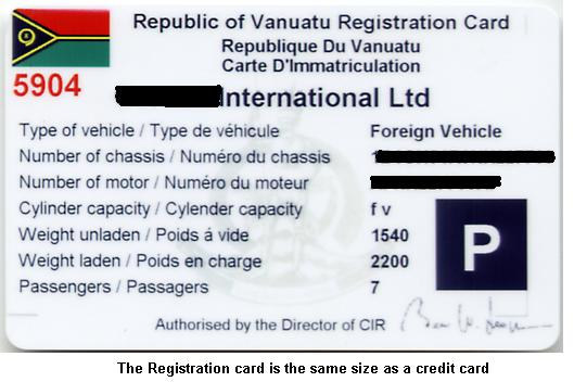 card license car